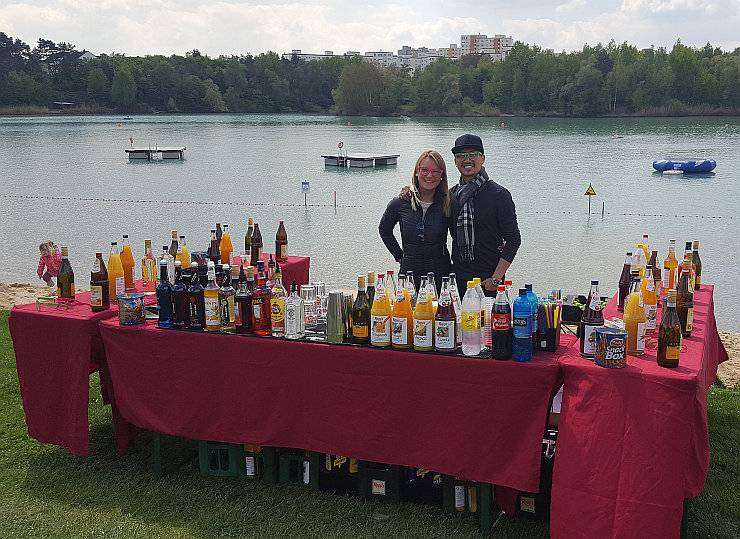 Cocktailbar Timeless Rodgau, Catering am Baggersee